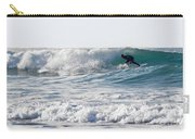 Surfers At Porthtowan Cornwall Carry-all Pouch