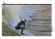 Surfin' The Wave Carry-all Pouch