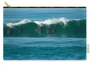 Surfing Dolphins 2 Carry-all Pouch