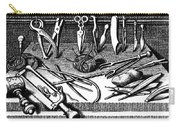 Surgical Equipment, 16th Century Carry-all Pouch