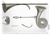 Surgical Instruments, 18th Century Carry-all Pouch