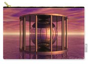 Metal Cage Floating In Water Carry-all Pouch