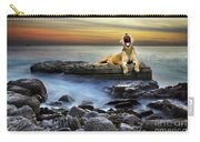 Surreal Lioness Carry-all Pouch by Carlos Caetano