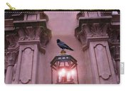 Surreal Raven Gothic Lantern On Building Carry-all Pouch