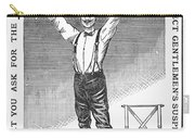 Suspenders, 1888 Carry-all Pouch