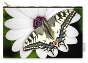 Swallowtail Butterfly Resting Carry-all Pouch