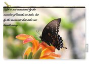 Swallowtail Card Carry-all Pouch