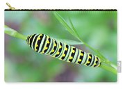 Swallowtail Caterpillar On Parsley Carry-all Pouch