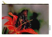 Swallowtail On Orange Carry-all Pouch