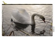 Swan Along The Shore Carry-all Pouch