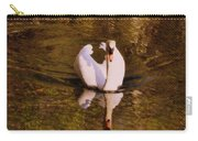 Swan At Susan Lake Carry-all Pouch