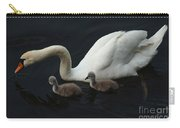 Swan Family 2 Carry-all Pouch