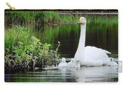 Swan Family Late Summer Carry-all Pouch