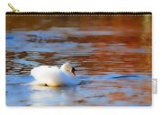 Swan Gold And Blue Carry-all Pouch