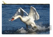Swan In Action Carry-all Pouch