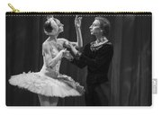 Swan Lake  White Adagio  Russia Carry-all Pouch by Clare Bambers