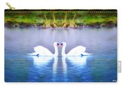 Swan Love Carry-all Pouch by Bill Cannon