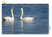 Swan Mates Carry-all Pouch by Sabrina L Ryan
