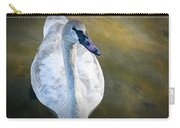 Swan On Evergreen Lake Carry-all Pouch