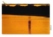 Swan Sunset At The Light Carry-all Pouch
