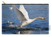 Swan Take Off Carry-all Pouch