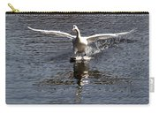 Swan Touches Down Carry-all Pouch