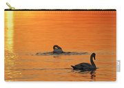 Swans In Early Light  Carry-all Pouch
