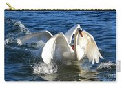 Swans Playing Carry-all Pouch