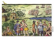 Swedish Colonists, 1702 Carry-all Pouch