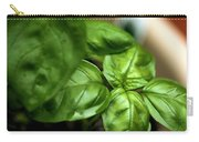 Sweet Basil From The Garden Carry-all Pouch