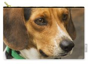 Sweet Little Beagle Dog Carry-all Pouch