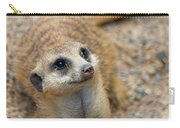 Sweet Meerkat Face Carry-all Pouch