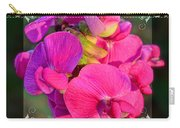 Sweet Pea Pop Out Square Carry-all Pouch