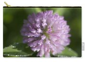 Sweet Pink Clover Carry-all Pouch