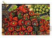 Sweet Red Peppers Carry-all Pouch