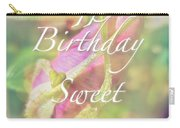 Sweet Sixteen Birthday Greeting Card - Rosebud Carry-all Pouch