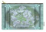 Sweetheart Birthday Greeting Card - Wild Phlox Carry-all Pouch