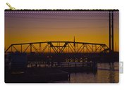 Swing Bridge Sunset Carry-all Pouch