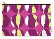 Swirly Stripe Carry-all Pouch by Louisa Knight