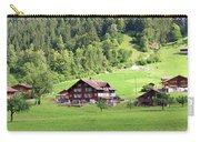 Swiss Village In The Alps Carry-all Pouch