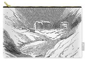 Switzerland: Convent, 1843 Carry-all Pouch