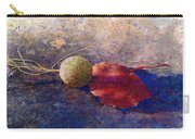 Sycamore Ball And Leaf Carry-all Pouch