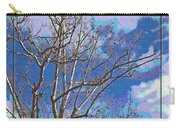 Sycamore Tree Branch Art Carry-all Pouch