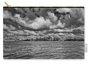 Sydney-black And White Carry-all Pouch