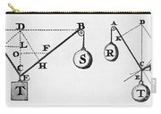 Symbol Language Of Statics Carry-all Pouch
