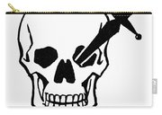 Symbol: Skull & Dagger Carry-all Pouch