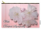Sympathy - Cherry Blossoms Carry-all Pouch