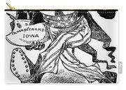 T. Roosevelt Cartoon, 1903 Carry-all Pouch