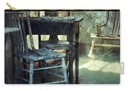 Table And Chairs Carry-all Pouch by Jill Battaglia