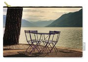 Table And Chairs Carry-all Pouch by Joana Kruse